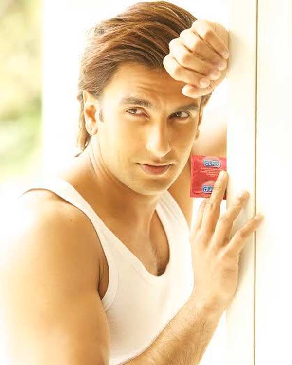 Have you seen Ranveer Singh's new condom ad? View pic!