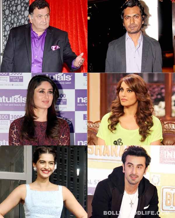 Kareena Kapoor Khan, Rishi Kapoor and Sonam Kapoor - meet Bollywood's mean brigade!