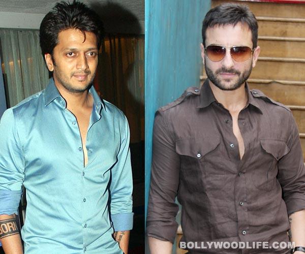 Are Saif Ali Khan and Riteish Deshmukh aping John Abraham and Abhishek Bachchan?