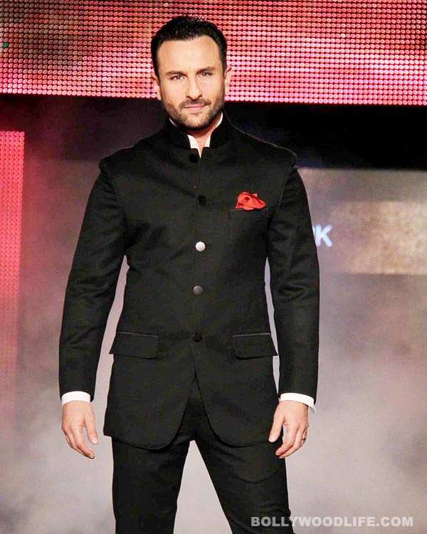 What is Saif Ali Khan's upcoming film Happy Ending all about?