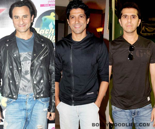 Saif Ali Khan to team up with Farhan Akhtar and Ritesh Sidhwani after 13 years!