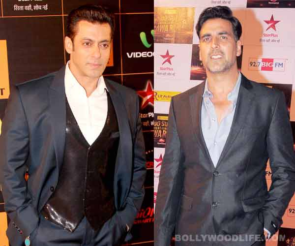 All is well between Salman Khan and Akshay Kumar!