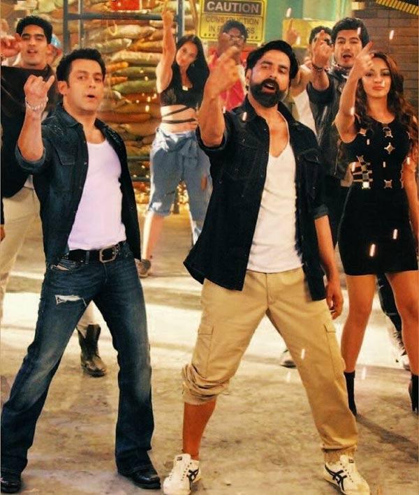 Is Salman Khan insecure of Akshay Kumar?