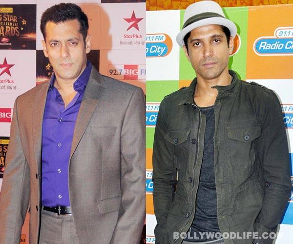 Is Salman Khan inspired by Shahrukh Khan's good friend Farhan Akhtar?