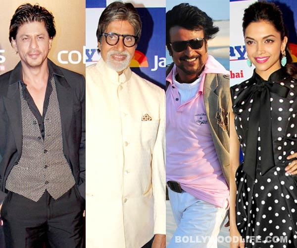 Shahrukh Khan and Amitabh Bachchan to attend Rajinikanth and Deepika Padukone's Kochadaiiyaan music launch
