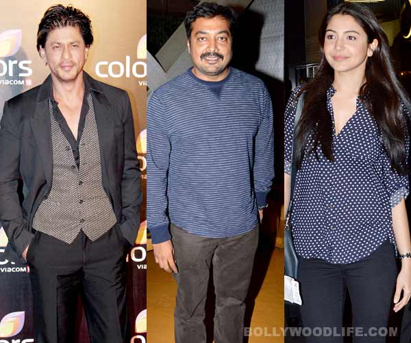 Shahrukh Khan to work with Anurag Kashyap, courtesy Anushka Sharma!