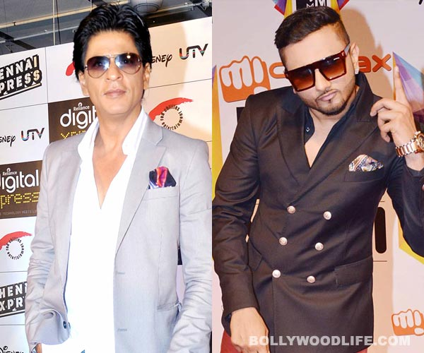 Is Yo Yo Honey Singh unhappy with Shahrukh Khan?