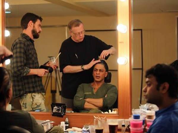 Shahrukh Khan's Fan look to be developed by Oscar winner Greg Cannom