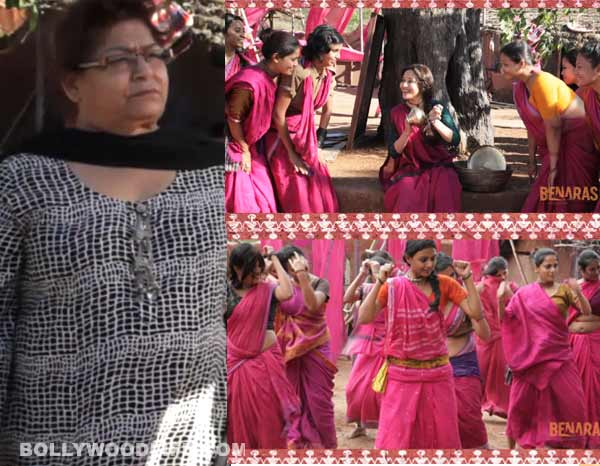 Gulaab Gang song Sharm laaj mohe making: Madhuri Dixit-Nene shows why she is Saroj Khan's favourite!