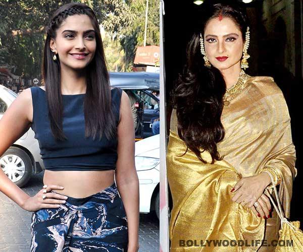 Sonam Kapoor afraid of Rekha?