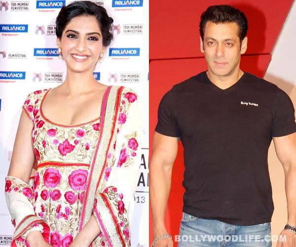 What did Sonam Kapoor text Salman Khan?