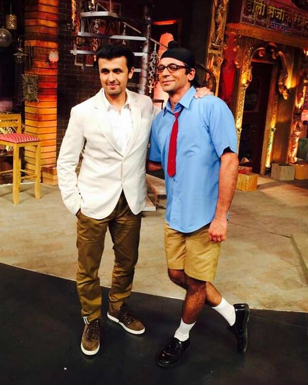 Mad in India: Sonu Nigam goes crazy on the comedy show!