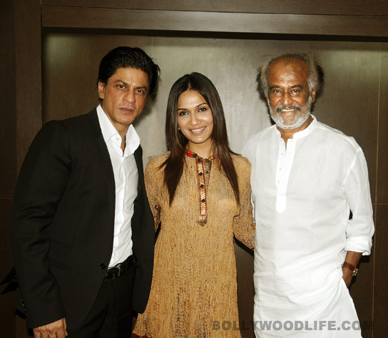 Why is Shahrukh Khan the biggest fan of Rajinikanth?