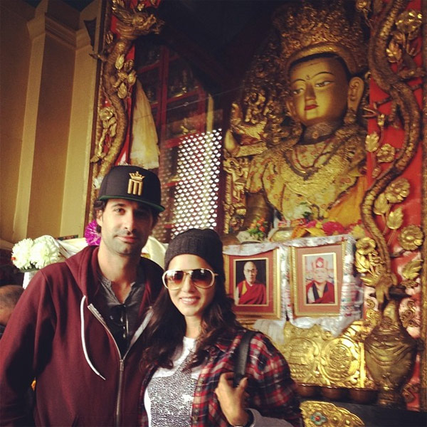 Sexy Sunny Leone's romantic getaway with Daniel Weber in Nepal - View pics!