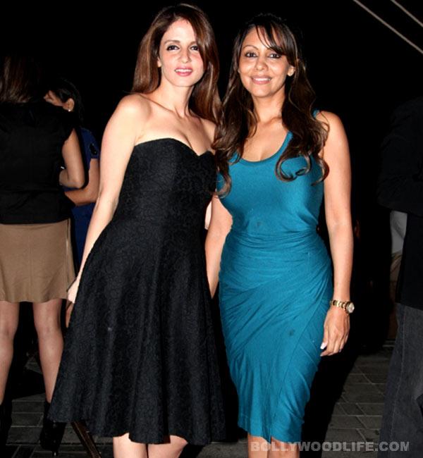 Shahrukh Khan and Hrithik Roshan's wives Gauri Khan and Sussanne take business to Dubai!