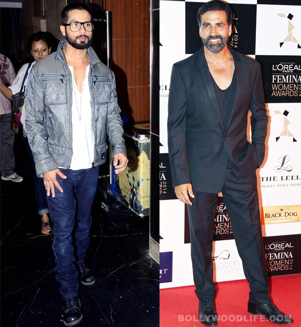 Shahid Kapoor or Akshay Kumar: Who looks sexier with a beard? Vote!