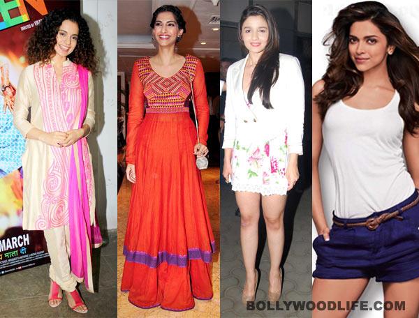 Deepika Padukone, Alia Bhatt and Sonam Kapoor's sexy summer style statements!