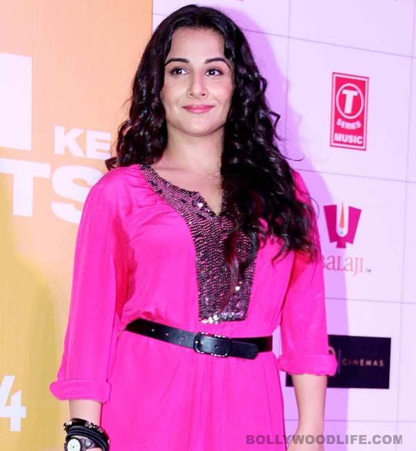 Is Vidya Balan coming back to TV?