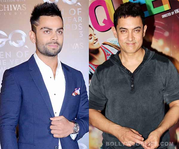 Aamir Khan and Virat Kohli to join Mahendra Singh Dhoni and Mary Kom as national icons of The Election Commission!