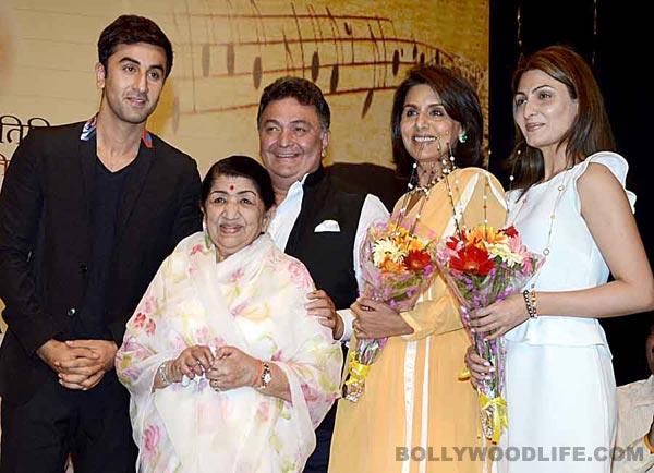 Ranbir Kapoor Lata Mangeshkar Rishi