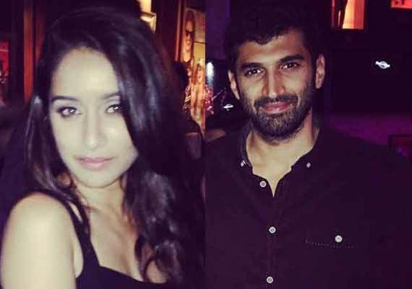 Lovebirds Shraddha Kapoor and Aditya Roy Kapur snapped partying together - View pics!