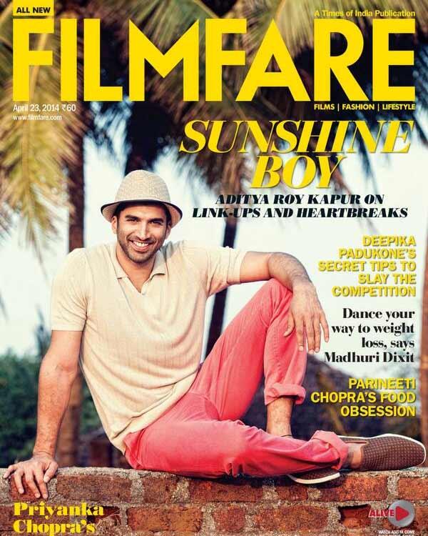 Sunshine boy Aditya Roy Kapur looks uber cool as a coverboy!
