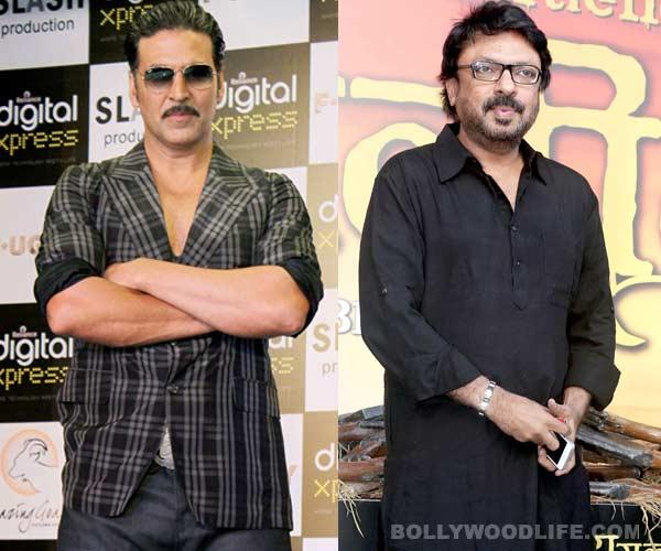 Why is Akshay Kumar miffed with Sanjay Leela Bhansali?