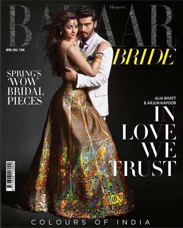Do Alia Bhatt and Arjun Kapoor make the perfect bride and groom?
