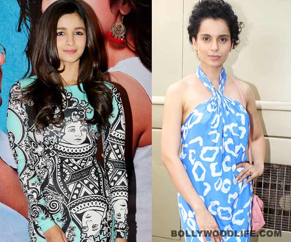 Alia Bhatt's box office success overshadows Kangana Ranaut's Revolver Rani!