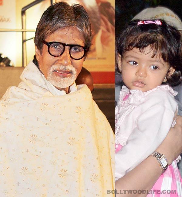 Aaradhya has fans just like megastar grandfather Amitabh Bachchan!