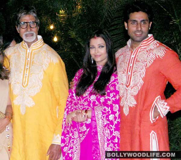 Amitabh Bachchan, Aishwarya Rai Bachchan and Abhishek Bachchan to recreate the Kajra re magic