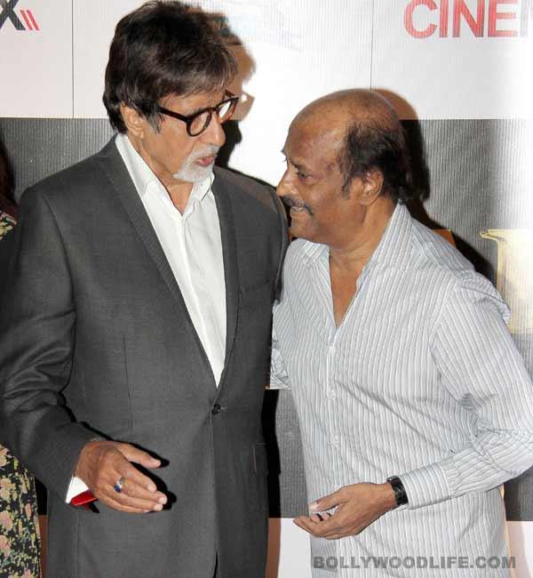 What is Amitabh Bachchan doing in Rajinikanth's Kochadaiiyaan?