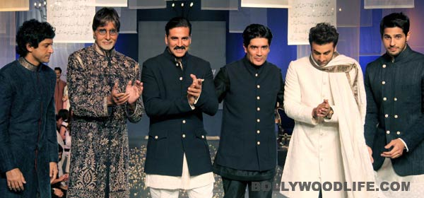Sidharth Malhotra excited to have walked the ramp with Amitabh Bachchan - View pics!