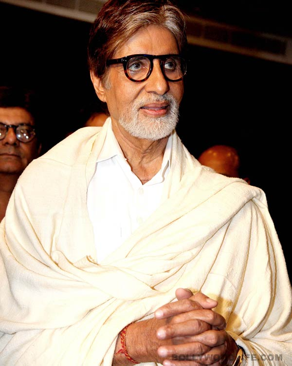 Why is Amitabh Bachchan nervous?