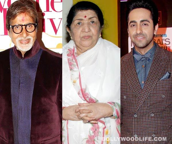Amitabh Bachchan, Lata Mangeshkar, Ayushmann Khurrana – Bollywood celebs who were declared dead on internet!