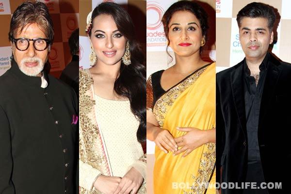 Amitabh Bachchan, Sonakshi Sinha, Vidya Balan, Karan Johar join hands for rural empowerment!