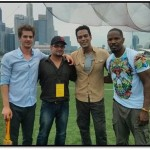 What happened when Samir Kocchar met Andrew Garfield? – View pics!