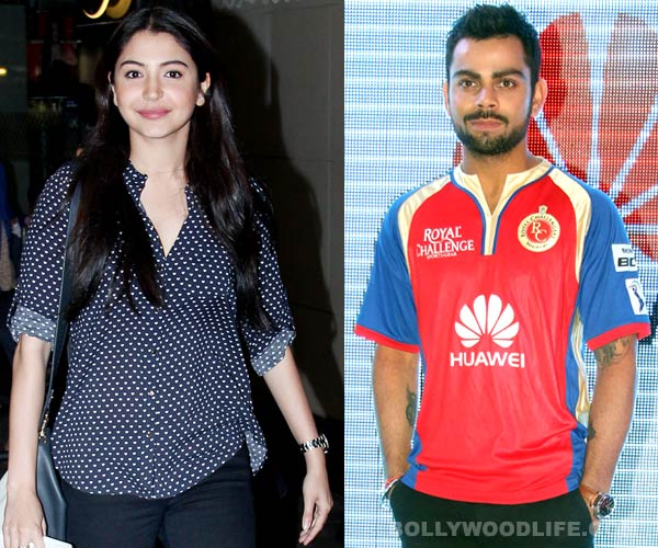 Anushka Sharma and Virat Kohli locked up in the same room?
