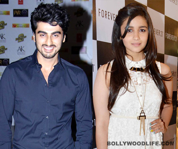 Alia Bhatt: I was star struck when I saw Arjun Kapoor for the first time