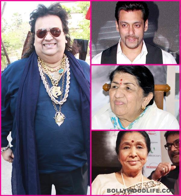 Salman Khan, Lata Mangeshkar and Asha Bhosle to campaign for Bappi Lahiri?