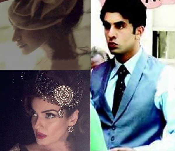 After Ranbir Kapoor, Anushka Sharma and Raveena Tandon's Bombay Velvet look out - view pics!
