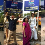 Raghu Ram, Vidya Malavde, Ranvir Shorey  pledge their support to AAP
