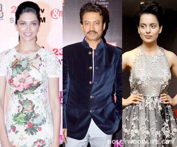 Irrfan Khan's double dhamaal, to romance Deepika Padukone and Kangana Ranaut in his upcoming films