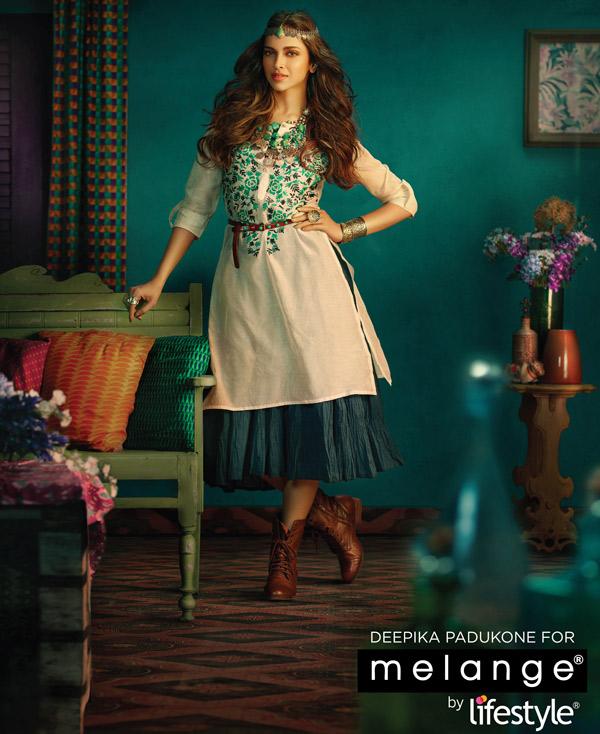 Deepika Padukone signed as the brand ambassador of Melange by Lifestyle!