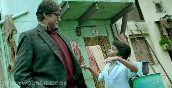 Bhoothnath Returns song Dharavi rap: Amitabh Bachchan matches steps with Parth Bhalerao