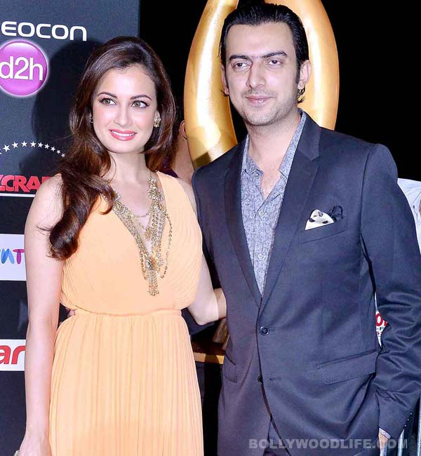 Dia Mirza and Sahil Sangha make it official, get engaged in NYC!