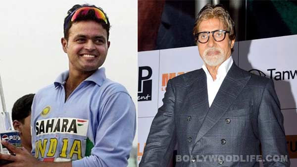 Why is Dinesh Mongia aping Amitabh Bachchan?