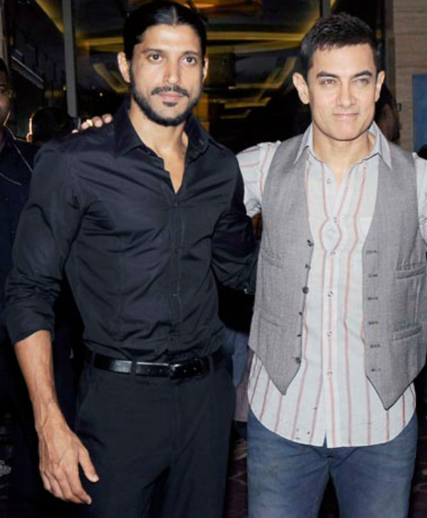 Lok Sabha elections 2014: Farhan Akhtar and Aamir Khan put work on hold to vote!