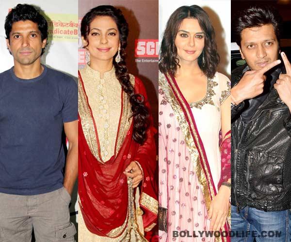 Juhi Chawla, Preity Zinta, Mahesh Bhatt, Ritesh Deshmukh among others cast their vote