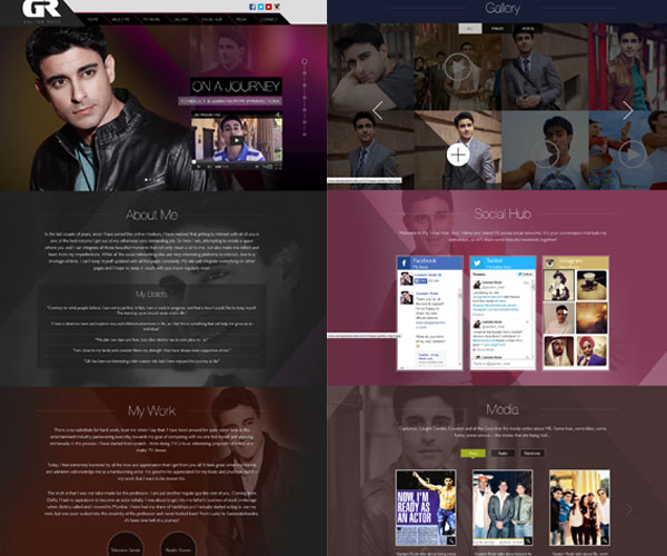 What would we like to see on Gautam Rode's personal website?